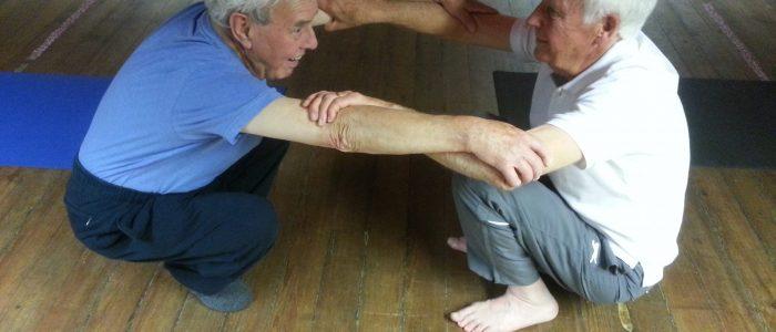 Ocogenarian Yoga for Blokes