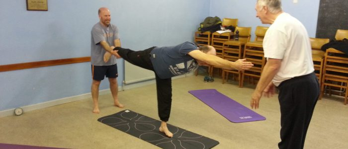 Group work Yatton Yoga for Blokes