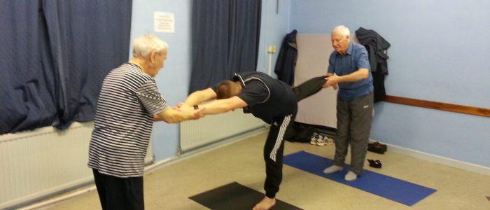 group work Yoga for Blokes