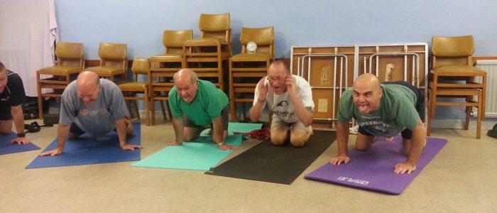 Simhasana Yoga for Blokes