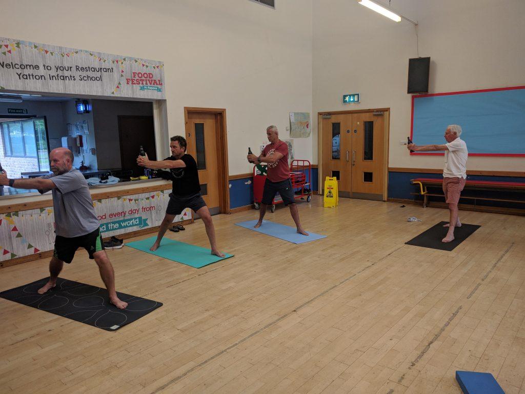 The Ale Vinyasa at Yoga for Blokes